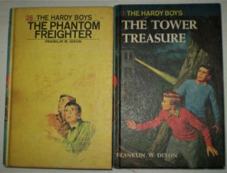 Hardy Boys - Two Books from Early 1970s. Franklin W. Dixon