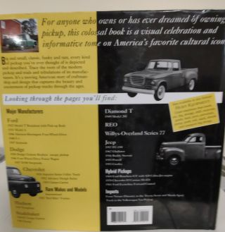 Pickup Trucks; a history of the great American vehicle