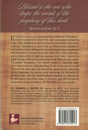 The Book of Revelation Made Easy; you can understand bible prophecy