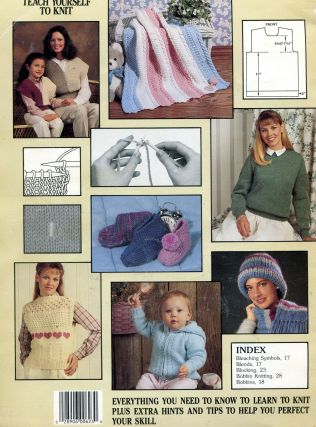 The All New Teach Yourself to Knit; Leisure Arts 623