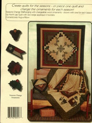 Seasons Change; by Kansas Troubles Quilters